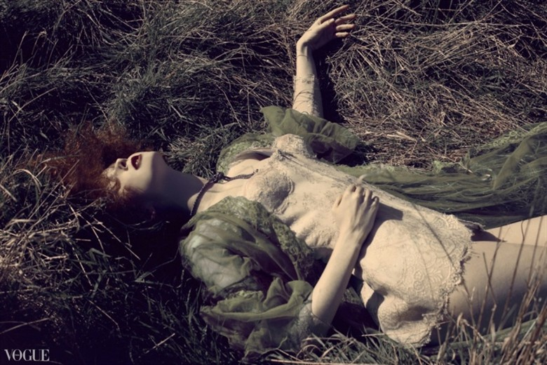 Ethereal Nature Photo by Model Gem