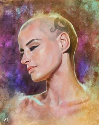 Eve Salvail Tattoos Artwork by Artist Diana Gali