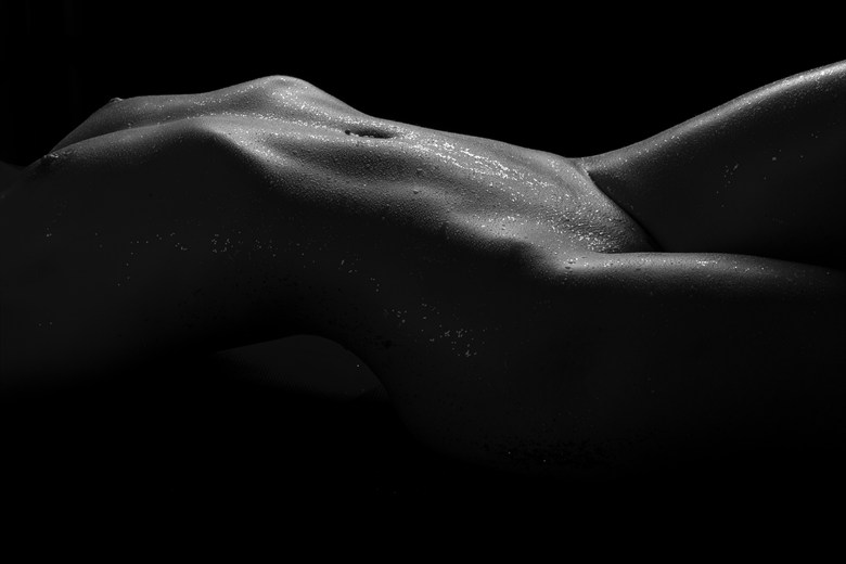 Everything she touched turned to gold Artistic Nude Artwork by Model Mariana Elizabeth