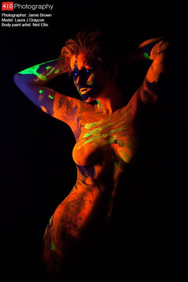 Evidence of Touch Artistic Nude Photo by Model Laura J Draycon