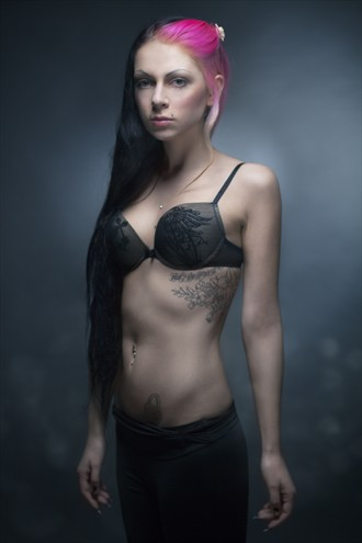 Ewel portrait Tattoos Photo by Model Ewel