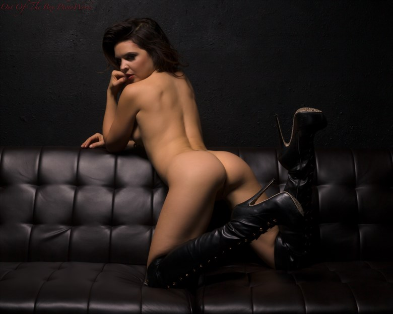 Excuse Me...Butt!! Artistic Nude Artwork by Photographer Miller Box Photo