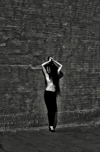 Expansive Surrender Artistic Nude Artwork by Photographer Robert Lee Bernard