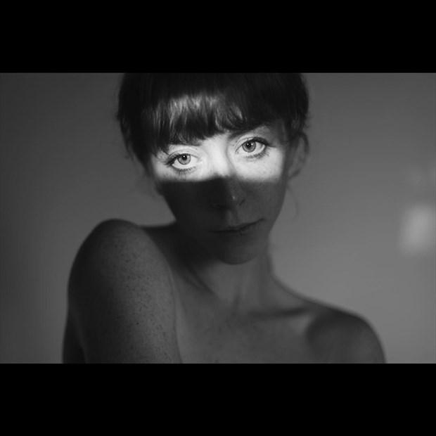 Experimental Portrait Photo by Model Liv Sage