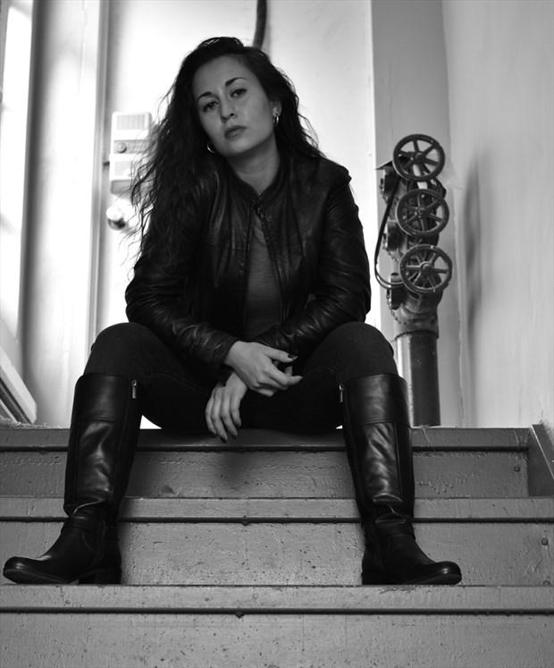Expressive Portrait Photo by Model Amanda M Esteves