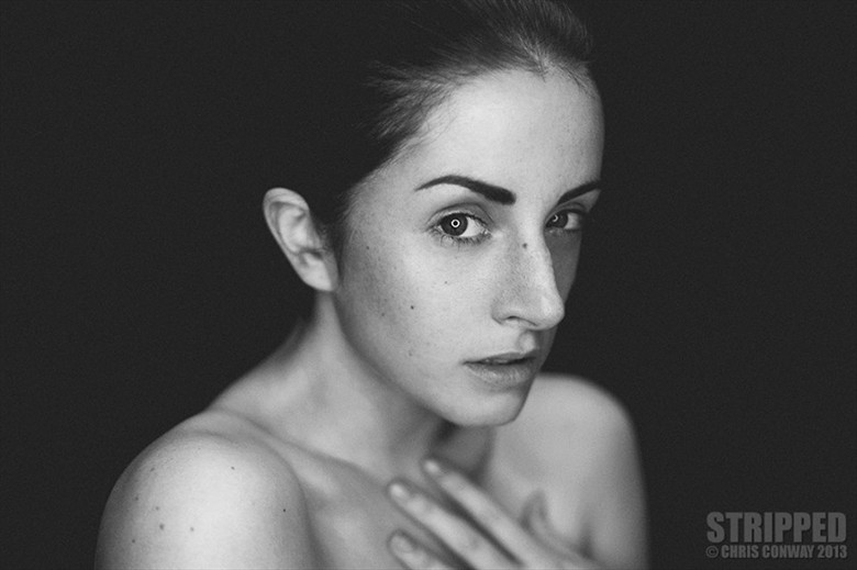 Expressive Portrait Photo by Model Caperucita Roja