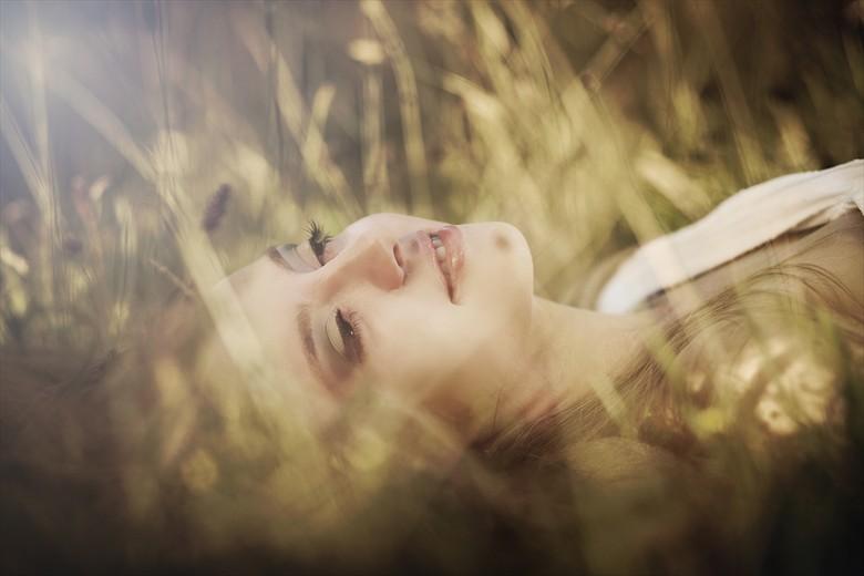 Expressive Portrait Photo by Model Cyan