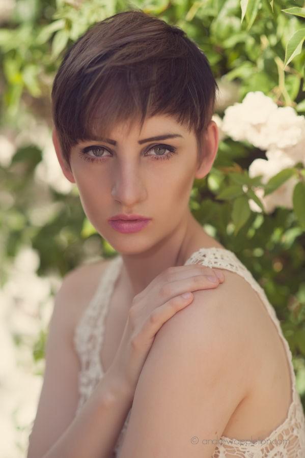 Expressive Portrait Photo by Model Lisa Violet