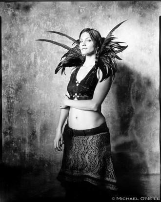 Expressive Portrait Photo by Model Satya