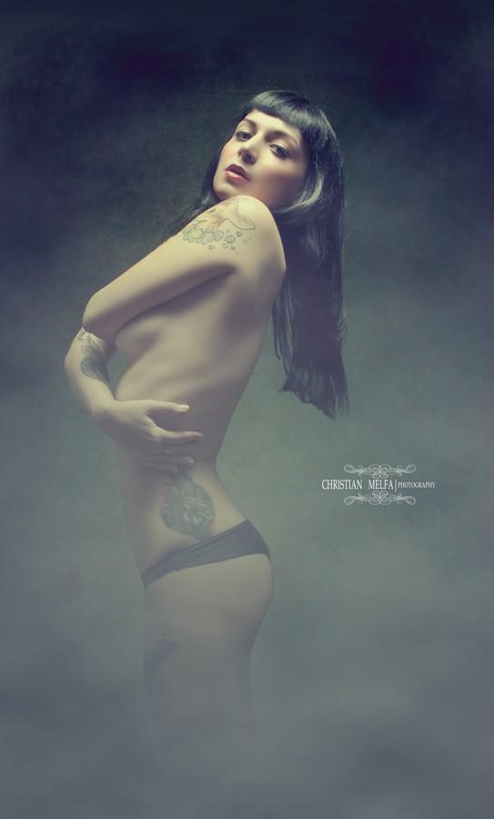 Expressive Portrait Photo by Photographer Christian Melfa