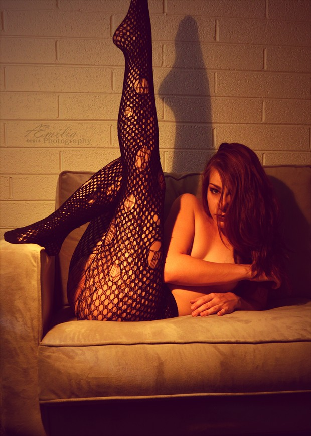 Extended Glamour Photo by Model Aemilia