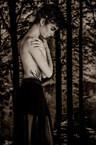 Exulansis Tattoos Photo by Model Sapphire