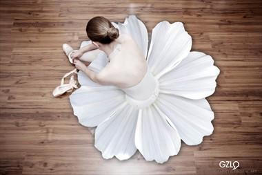 FLOWER DANCER Surreal Photo by Artist GonZaLo Villar