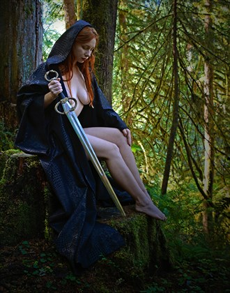 FOREST GODDESS III Artistic Nude Photo by Photographer Rare Earth Gallery