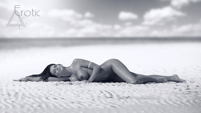 FROM BAHAMAS TRIP Shooting with beautiful Lucretia on Cococay island Artistic Nude Photo by Photographer ArtErotic