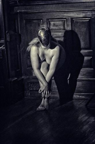Faceless Soul on Hardwood 1 Artistic Nude Photo by Photographer APB Photo Studio