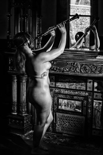 Faceless Soul on Hardwood 2 Artistic Nude Photo by Photographer APB Photo Studio