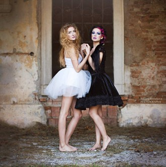 Fairy and the witch II. Fantasy Photo by Model Ewel