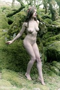 Fairy of the Land Artistic Nude Artwork by Model Rosa Brighid