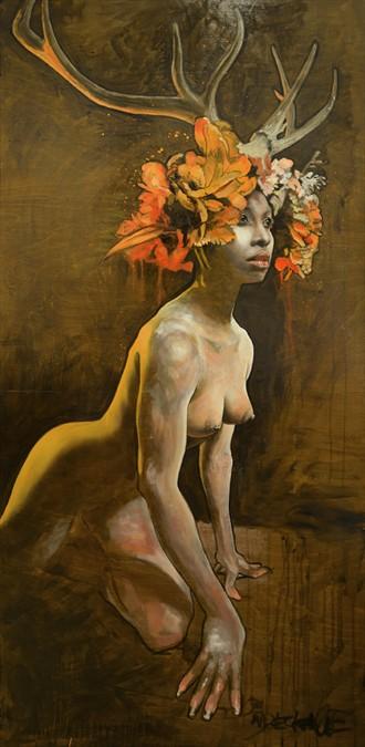Faith Artistic Nude Artwork by Artist wreckage