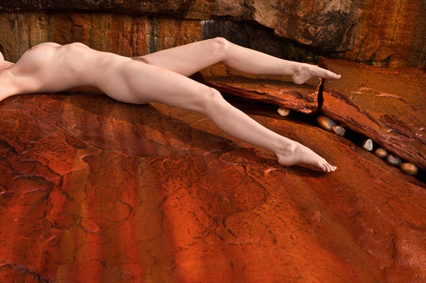 Fall Away Artistic Nude Photo by Model Mila