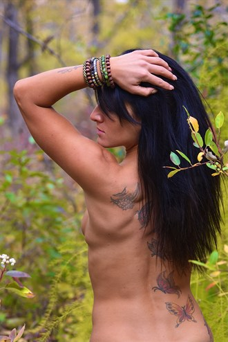 Fall of Eden Artistic Nude Photo by Photographer LoneWolfMedia