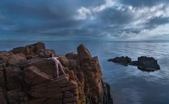 Fallen Angel Artistic Nude Photo by Photographer CommandoArt