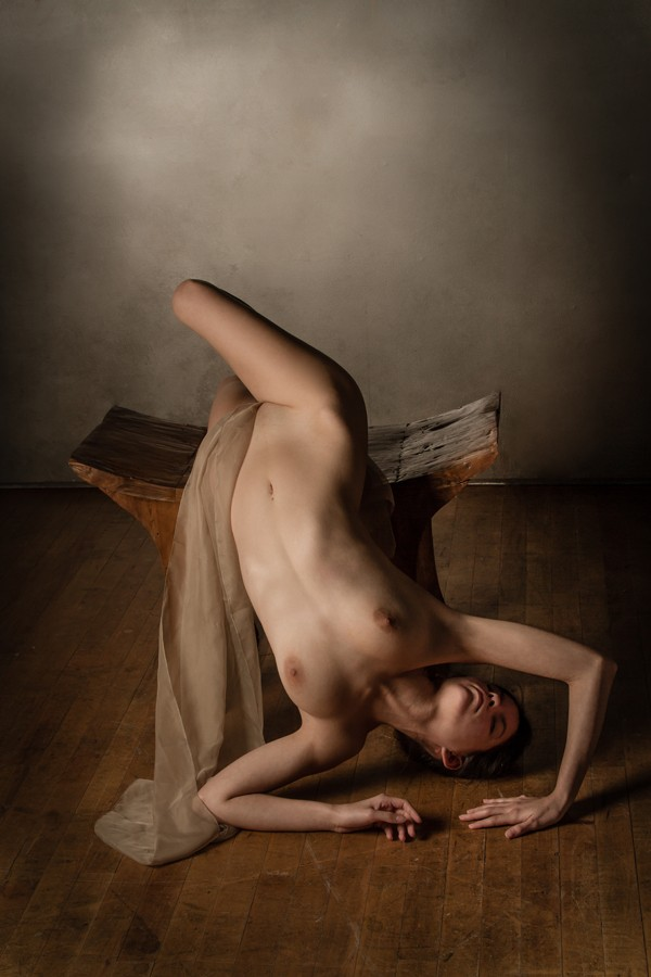 Fallen Artistic Nude Photo by Model S nia