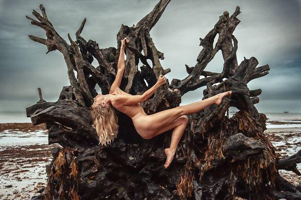 Fallen Artistic Nude Photo by Model Selkie