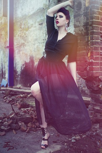 Falling Apart Fashion Photo by Photographer Edelman Photography