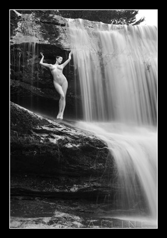 Falls Artistic Nude Photo by Model Mila
