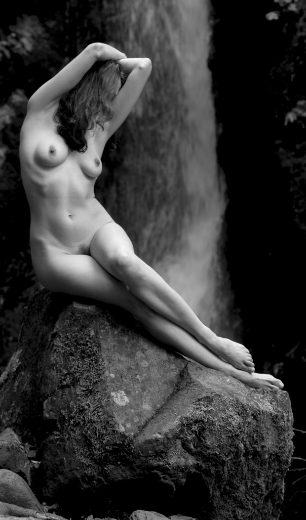 Falls Figure Study Photo by Photographer Eric Lowenberg