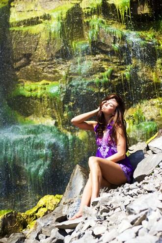 Fani Miller Purple 1 Lingerie Photo by Photographer WhiteCranePhoto