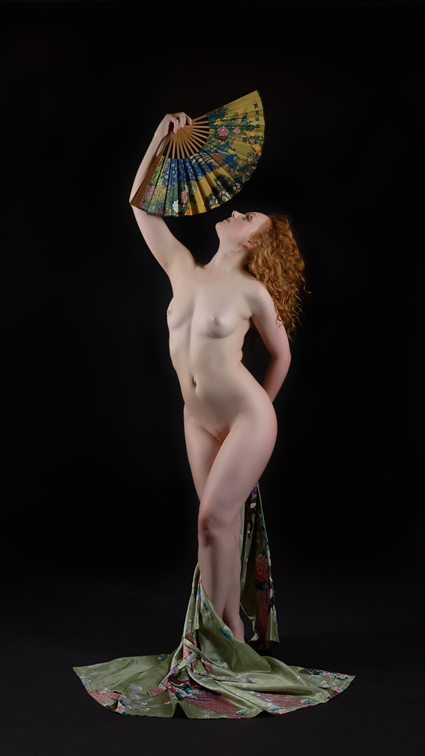 Fanning the Flames Artistic Nude Photo by Photographer Rascallyfox