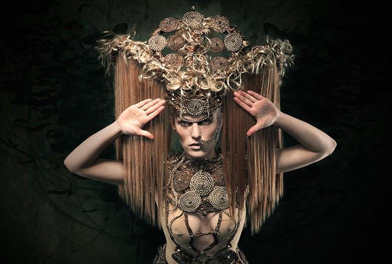 Fantasy Alternative Model Photo by Model Amesbury Rose