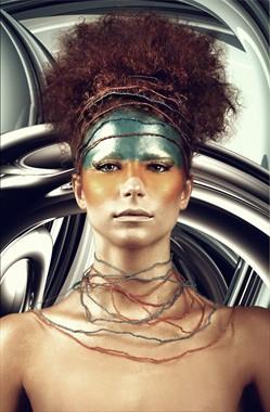 Fantasy Alternative Model Photo by Model Rebecca Norden