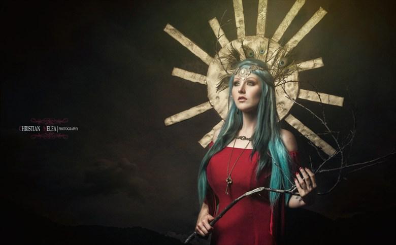 Fantasy Alternative Model Photo by Photographer Christian Melfa