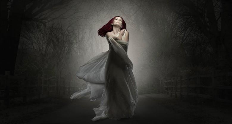 Fantasy Artwork by Model Nina Covington