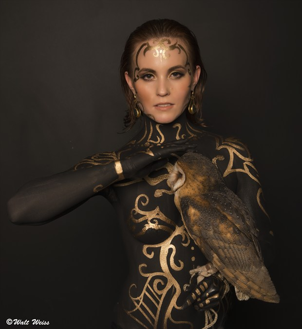 Fantasy Body Painting Photo by Model AtenaMy