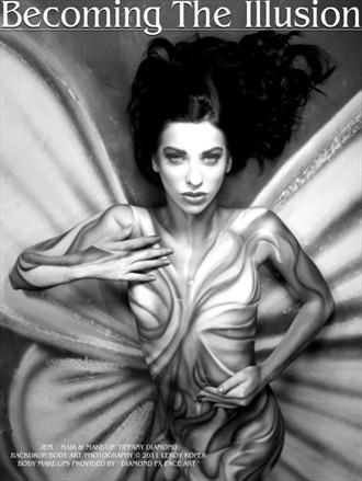 Fantasy Body Painting Photo by Model Jaylynn Mitchell