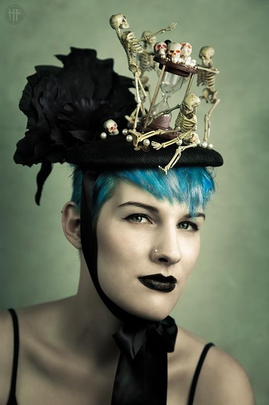 Fantasy Close Up Photo by Model Adara Saeth