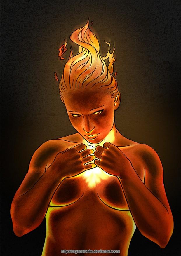 Fantasy Digital Artwork by Artist Dayanelohim