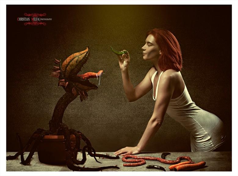 Fantasy Horror Artwork by Photographer Christian Melfa