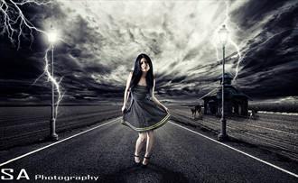 Fantasy Photo Manipulation Artwork by Model Erica Lyn