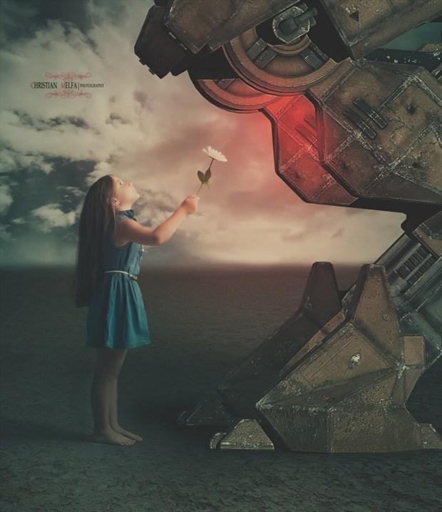 Fantasy Photo Manipulation Artwork by Photographer Christian Melfa