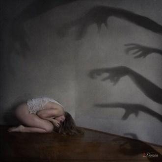 Fantasy Silhouette Artwork by Model Lil'Guacamole