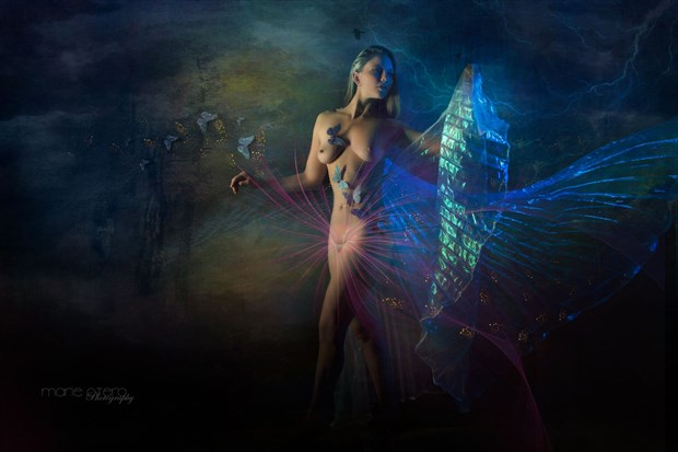 Fantasy Studio Lighting Photo by Model Satya