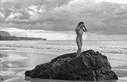 Far Off Rain Artistic Nude Artwork by Photographer Thom Peters Photog