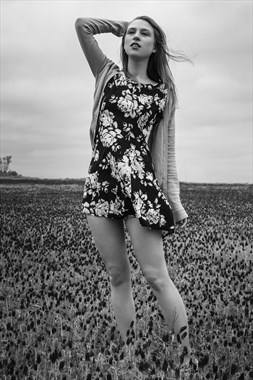 Fashion Candid Photo by Model Astrid Von Winter
