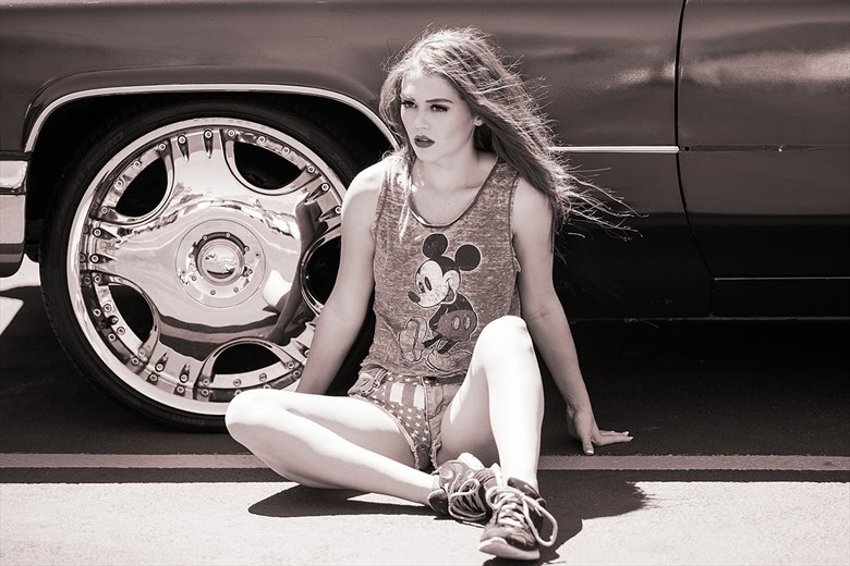 Fashion Expressive Portrait Photo by Model Allie Summers